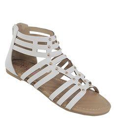 White Bea Sandal