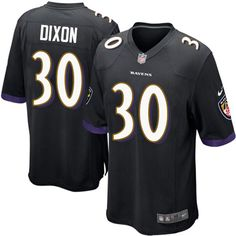41face068 Men s Nike Baltimore Ravens  30 Kenneth Dixon Game Black Alternate NFL  Jersey Cowboys Dez Bryant 88 jersey