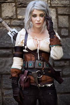 Ladee Danger as Ciri (Witcher 3)