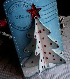 CottageBLOG: CottageCutz post - Christmas gift tag