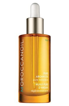 moroccanoil pure argan oil for hair, skin, and nails