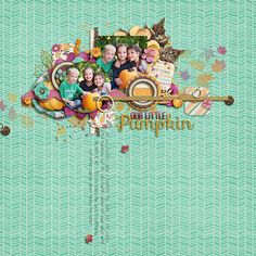 Kit: Pumpkin Spice by Studio Flergs & Amber Shaw // Template: Lilac by Sara Gleason
