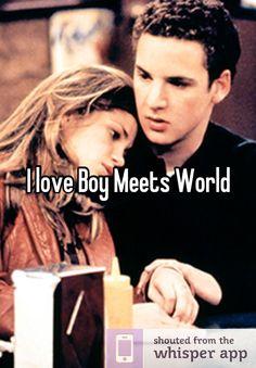 I love Boy Meets World