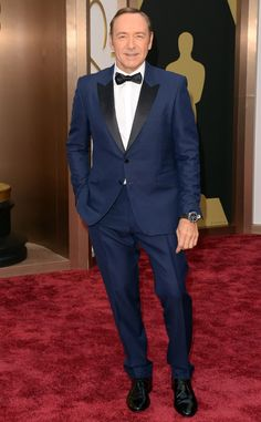 Kevin Spacey went bold tonight with a navy Burberry tux! Bet he was inspired by our Spa Skin Therapy line. http://www.myvitabath.com/spa-skin-therapy/