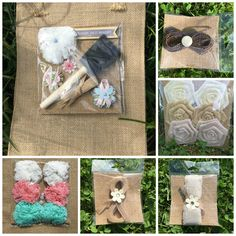 Chalky & Company just released embellishments - how adorable are these ? I love the burlap flowers