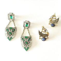 Shield Drop vs Goose Stud which one? -http://ift.tt/1OOU5VT #earrings #goose #studs #shield #style