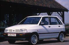 Kia Pride With White Walled Tyres 1992