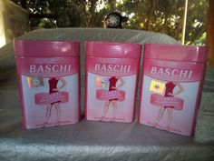 3 boxes Baschi very strong weight loss slimming fat burner diet pill #baschi