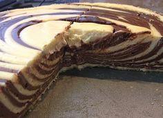 Low Carb Rezepte: Zebra-Käsekuchen ohne Boden