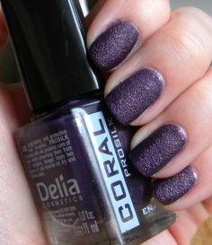 Delia Coral Prosilk S06 efekt piasku #nails #nailpolish