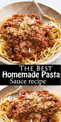 The Best Homemade Pasta Sauce TheBest Homemade Pasta Sauce TheBest HomemadePastaSauce 473863192043416768 Pasta Sauce Ingredients, Pasta Sauce Recipes, Spaghetti Recipes, Spaghetti Sauce, Lemon Spaghetti, Pasta Sauce Meat, Baked Spaghetti, Healthy Dinner Recipes, Vegetarian Recipes