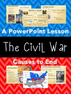Civil War Unit PowerPoint Presentation. Covers causes of the Civil War all the way through to the end. Aligned with 5th Grade Social Studies standards in Georgia. 100% Editable! $