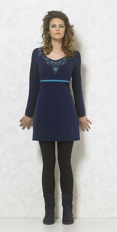Blue Dress by Papa k' Froufrou Corinthos Greece