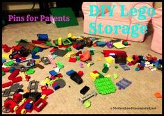 Real Pins for Parents: Lego Storage (Hilarious!)