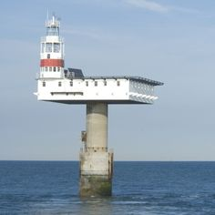 ROYAL SOVEREIGN LIGHTHOUSE | EASTBOURNE | EAST SUSSEX | ENGLAND: *First Lit: 1971; Automated: 1994; Height: 118ft (36m)*