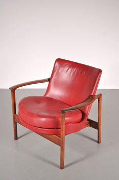 Set of 5 Easy Chairs by Ib Kofod Larsen for Carlo Gahrn Denmark, circa 1960 OFFERED BY GALERIE GAUDIUM $6,513.96 / item