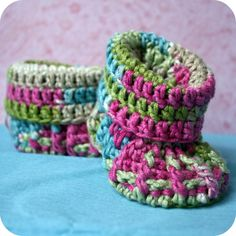 Baby booties...anyone know where to find the pattern?