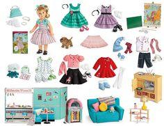 Maryellen's board...1954 | American Girl Playthings!