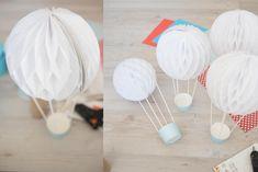 Cómo hacer globos aerostáticos de papel