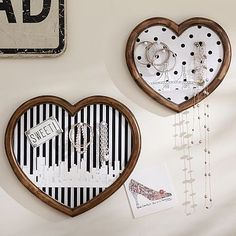 The Emily + Meritt Heart Wall Pinboards Set of 2 #pbteen Buying these for my office!!