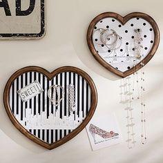 The Emily + Meritt Heart Wall Pinboards Set of 2 #pbteen