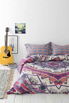 Magical Thinking Mountain Medallion Duvet Cover - Urban Outfitters