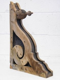 Columbus Architectural Salvage - Victorian Wood Corbel Bracket