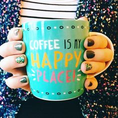If you need me this morning, I'll be in my happy place... ☕️ #coffeetime #butfirstcoffee #ABMhappylife #happyplace #coffeelover #details #livecolorfully