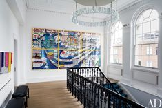 Francis Sultana Updates a Historic London House with Cutting-Edge Art Photos   Architectural Digest
