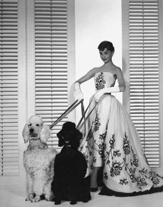 """His are the only clothes in which I am myself."" -Audrey Hepburn on Givenchy"
