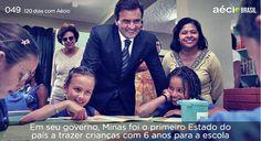 O Brasil precisa de mais investimentos em educação. #AecioNeves #VamosMudarOBrasil http://120diascomaecio.tumblr.com/