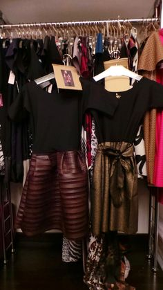 http://Www.byalis.it handmade italian fashion. Pliss Faux leather and black and gold fit and flare dresses
