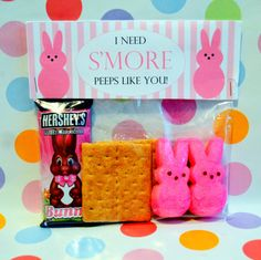 PRINTABLE - I need S'MORE peeps like you - Easter Favor on Etsy, $3.00