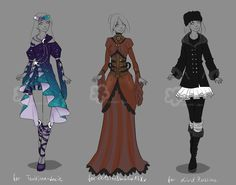 Custom Outfits #13 by Nahemii-san.deviantart.com on @DeviantArt