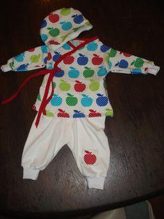 baby newborn overslagshirt met broekje