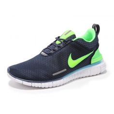 classic fit d5107 ccf81 Nike Free OG Breathe Running Shoes Blue Green