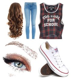"""Back to school, pretty cool!"" by mpileri ❤ liked on Polyvore"
