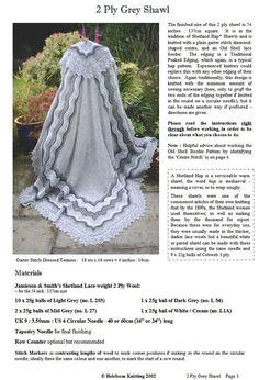 The Grey Shawl pdf Knitted Shawls, Crochet Shawl, Knit Crochet, Crochet Scarves, Lace Knitting, Knitting Patterns, Crochet Patterns, Knitting Projects, Crochet Projects