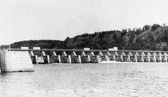 Dam at Hastings Minnesota, 1920's