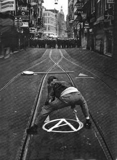 Anarchy. Amsterdam, Leidsestraat