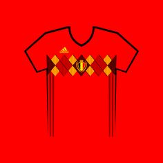 Vote for your favourite World Cup shirt! Belgium World Cup Shirt Vector World Cup Shirts, World Cup Teams, Team Shirts, Belgium, Your Favorite, Russia, Kit, Football Jerseys