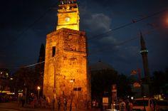 Exploring Antalya on foot - Old Antalya Turkey at night Antalya, Adventure Travel, Exploring, Old Things, Turkey, Europe, Night, Building, Image
