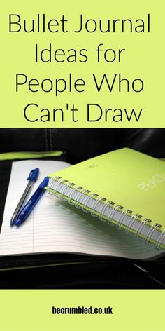 Super-easy bullet journal ideas & inspiration, even for people who can't draw. Bullet journal ideas for absolute beginners & the artistically challenged. Bullet Journal For Beginners, Bullet Journal How To Start A, Bullet Journal Notebook, Bullet Journal Inspo, Bullet Journal Layout, Bullet Journal Ideas Pages, Book Journal, Bullet Journals, Bullet Journal Project Planning