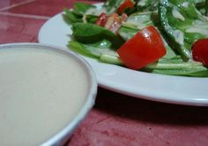 """Fresh and Tangy Tahini """"Goddess"""" Dressing in 10 Minutes"""