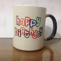Happy birth day mug printing in pakistan