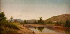 William M. Hudson River School Paintings, More Images, Landscape Paintings, Oil On Canvas, 19th Century, Fine Art, Landscape, Visual Arts, Landscape Drawings