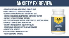 Anxiety FX Review: Get Rid of Anxiety, Depression and Negative Thinking