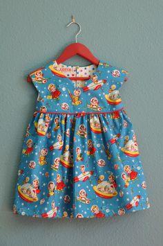 Geranium Dress (Made by Rae)/ Retro Rokets _miestaflet