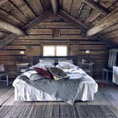 farmhouse attic bedroom