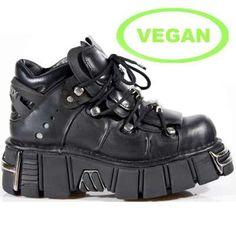 m106-vc1 New Rock Tower Vegan Boots